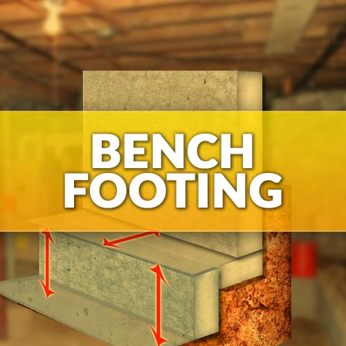 Bench Footing-Benching